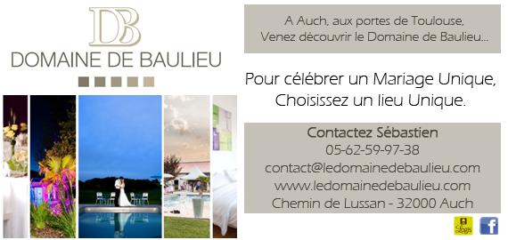 Domaine de Baulieu, un lieu unique pour un mariage unique