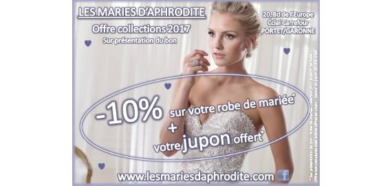 Les mariés d'Aphrodite, Offre collections 2017
