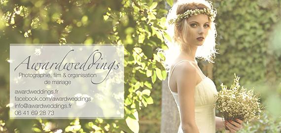 Awardweddings, photographie, film & organisation de mariage
