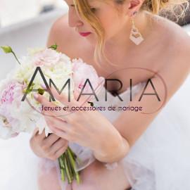 Amaria, tenues & accessoires de mariage
