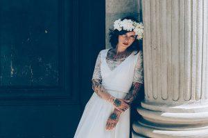 Céline Ménard, créations de robes de mariées sur mesure, Robe Judy