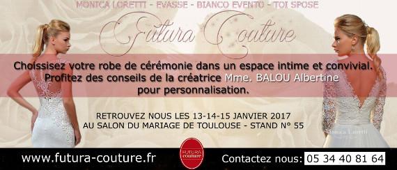 Futura Couture, robes de mariées et de cérémonie