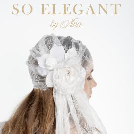 SO ELEGANT by Nina, chapeaux, voiles et autres accessoires de coiffure élégants