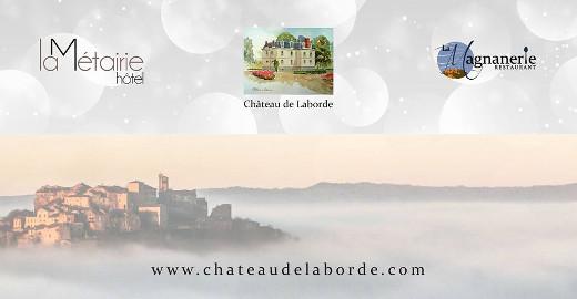Chateau de Laborde, La Métairie, La Magnagnerie