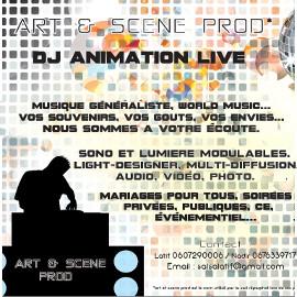 Publicité Art & Scène Prod