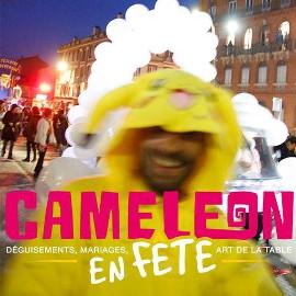 Publicité Caméléon en Fête