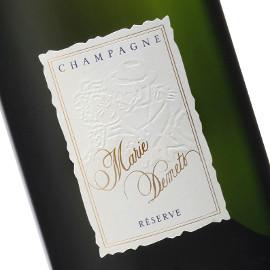 Publicité Champagne Marie Demets