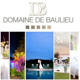 Publicité Domaine de Baulieu