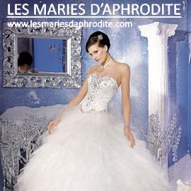Publicité les mariés d'Aphrodite
