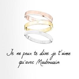 Publicité Mauboussin