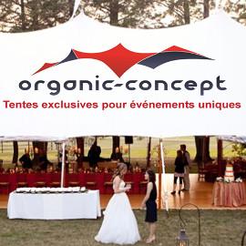 Organic-Concept, tentes exclusives pour évévements uniques