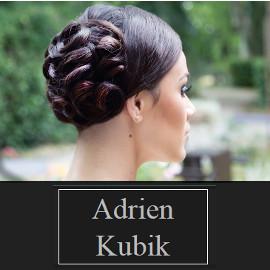 Adrien Kubik, coiffure mariage