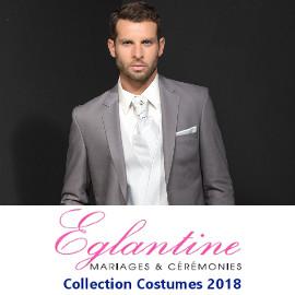 Eglantine Mariage et Cérémonies, Collection Costumes 2018
