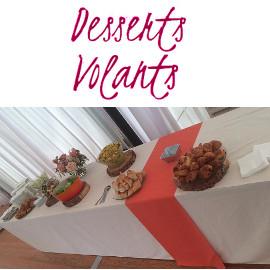 Desserts Volants, traiteur de réception et de mariage