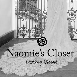 Naomie's Closet, marque spécialisée dans la robe de mariée, de cocktail personnalisable, et sur-mesure.