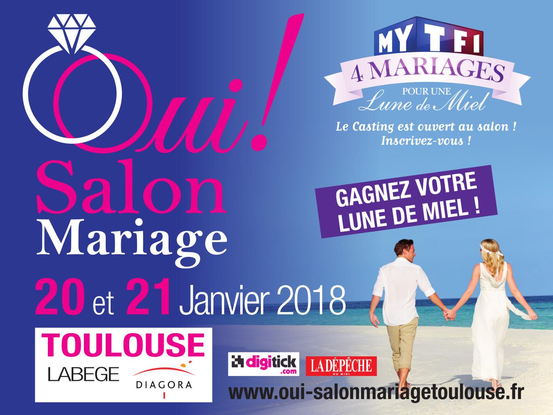 Affiche Salon du Mariage de Toulouse 2016
