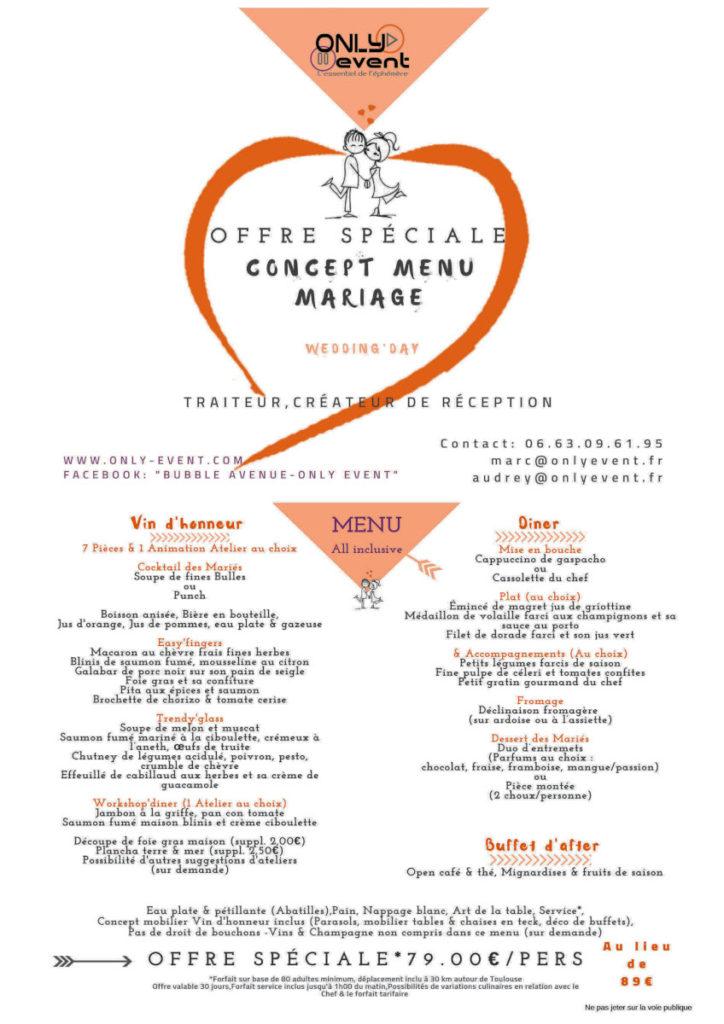 Only Event, l'essentiel de l'éphémère, organisation de mariage à Toulouse