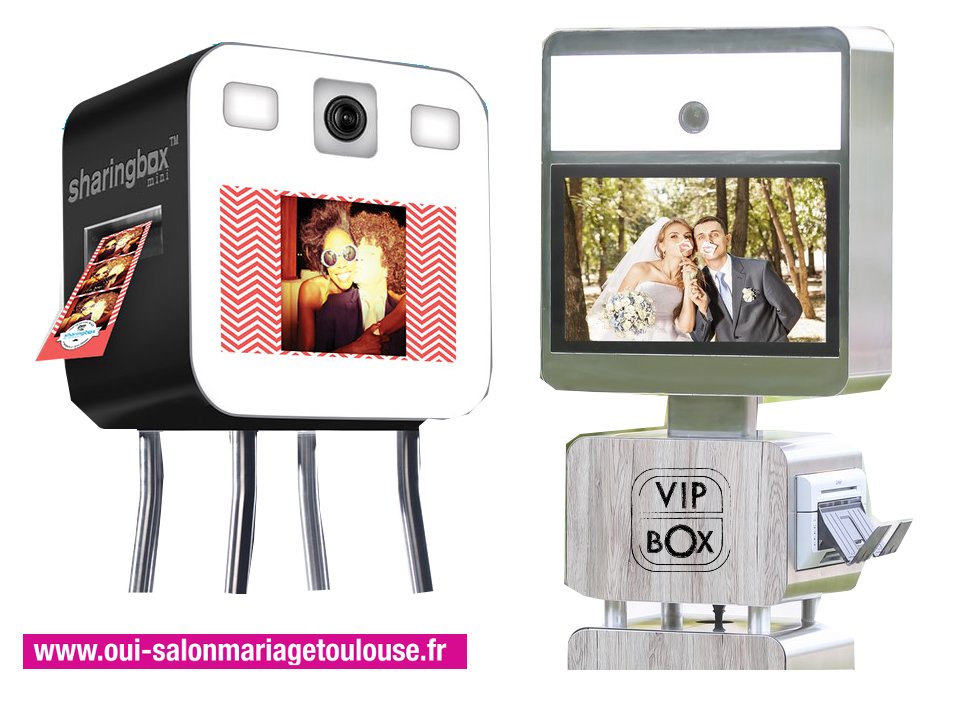 Animation Photobooth, Sharing Box & Vip-Box