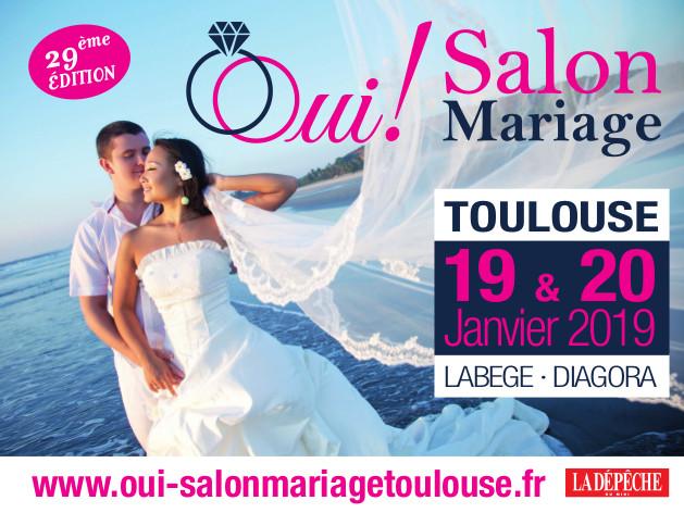 Affiche Oui! Salon du Mariage de Toulouse, 29ème édition