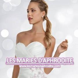 Les Mariés d'Aphrodite, Robes de mariée, costumes, robes de cocktail, cortège enfant et accessoires.