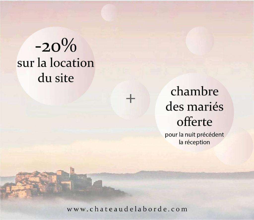 Château de Laborde, réceptions de mariage, Ventes Privées VIP 2018, Oui! Salon Mariage Toulouse