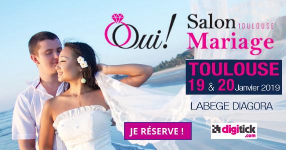 Billetterie OUI ! Salon Mariage Toulouse