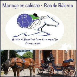 ROC DE BELESTA | MARIAGE EN CALECHE