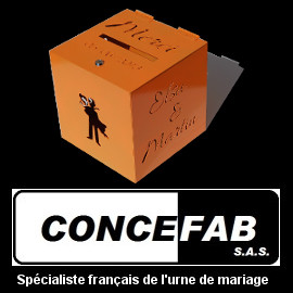 CONCEFAB URNE DE MARIAGE