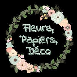FLEURS PAPIERS DÉCO