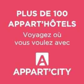APpart' City, logo, plus de 100 appart'hôtels