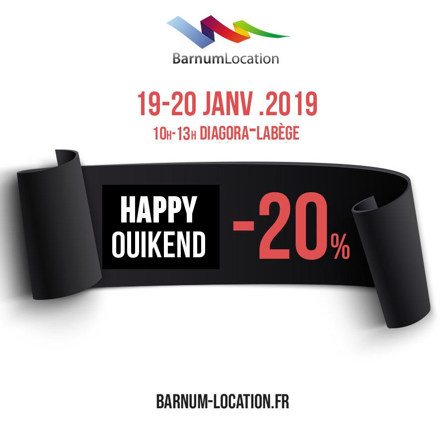 Offre InOui! Narnum Location Salon Mariage Toulouse 2019