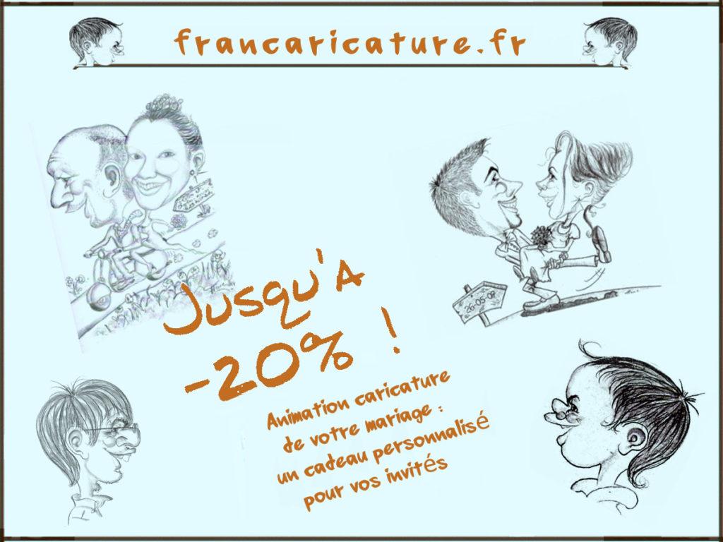 Franc Caricature Offre InOui! 2019 Oui! Salon Mariage Toulouse