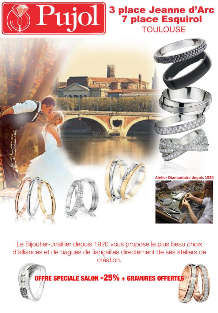 Offre InOui! Pujol Bijouterie Oui! Salon Mariage Toulouse Diagora Labège 2019