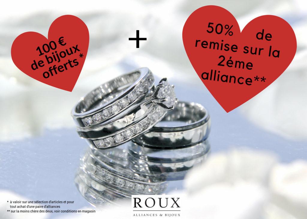 Offre InOui! Roux Alliances & Bijoux