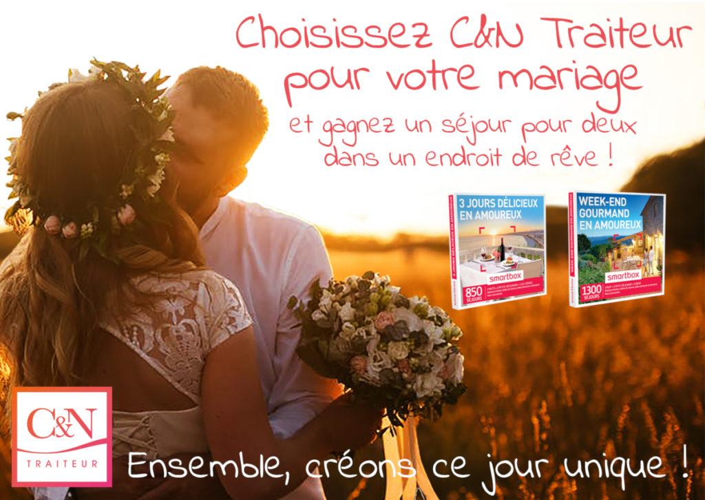 C&N Traiteur, offre Inoui! 2019, Oui! Salon Mariage Toulouse