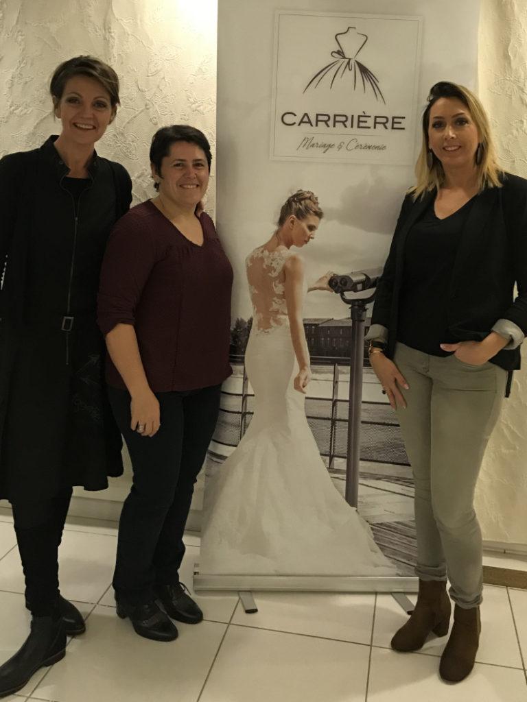 Carrière Mariage & Cérémonie NG, robes de mariées