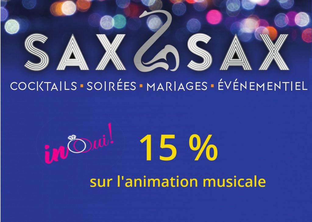 Offre InOui! Sax2Sax Salon Mariage Youlouse Labège