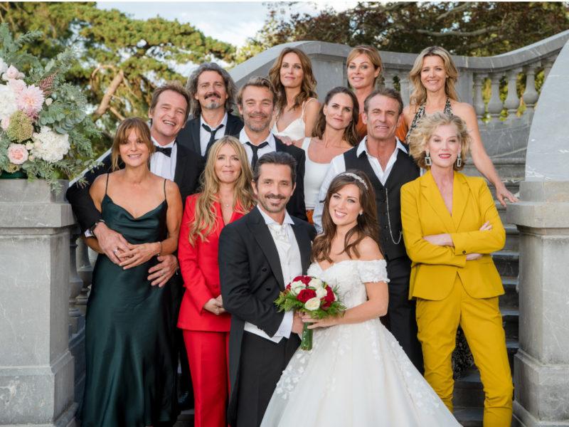 Le mariage de Christian & Fanny, Les Mystères de l'Amour, septembre 2019