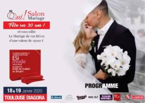 Dossier de Presse Oui Salon Mariage Toulouse Diagora 2020