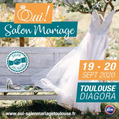 Affiche Salon mariage solidaire 2020 Diagora Labege
