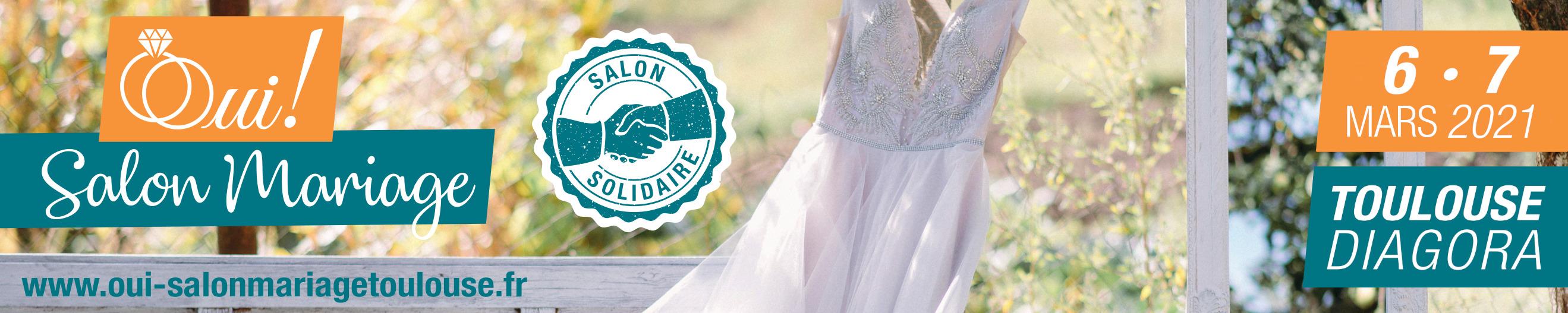 Bandeau Oui ! Salon Mariage 2021