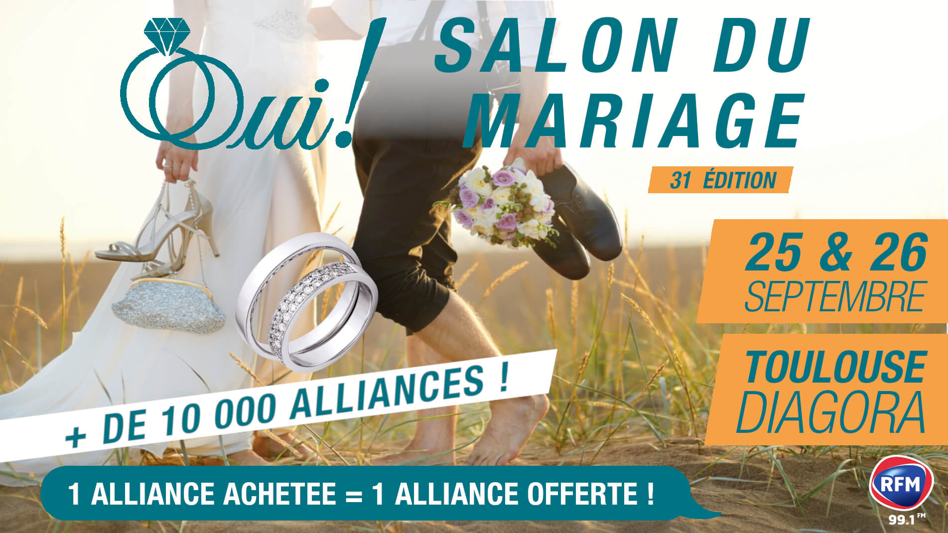 Salon Oui! Salon Mariage Septembre 2021