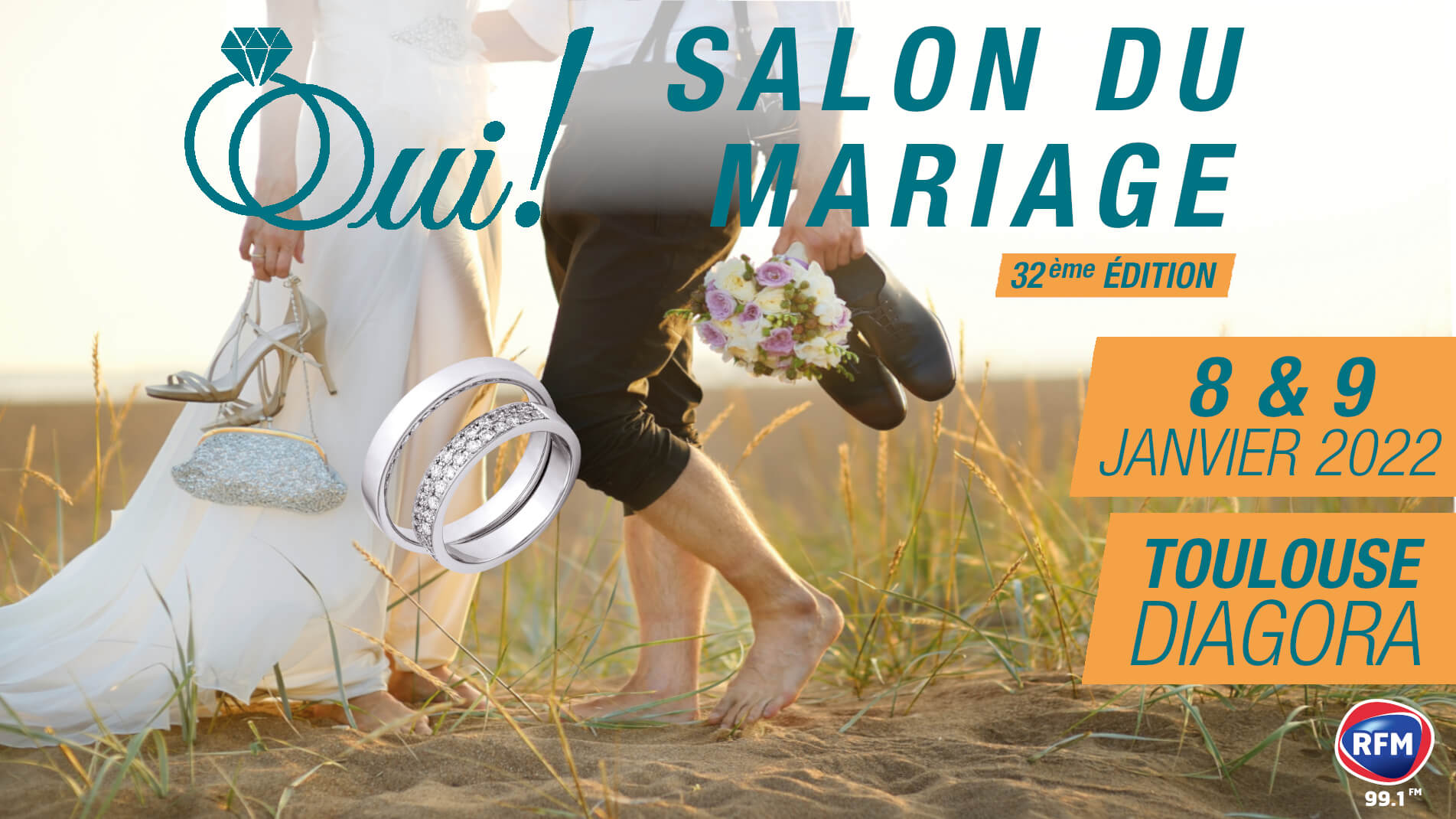 Annonce 32ème édition du Salon du Mariage de Toulouse Diagora